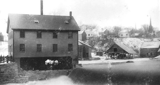 1893 Yarmouth Craig's Mill aka Hayes Mill aka Grist Mill...